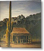 Old Tucson Home Metal Print