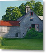 Old Vermont Barn Metal Print