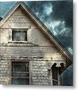 Old Victorian House Detail Metal Print