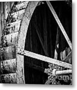 Old West Water Mill 2 Metal Print by Darcy Michaelchuk