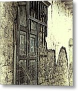 Old Window Metal Print