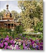 Old Wooden Russian Orthodox Church  Metal Print