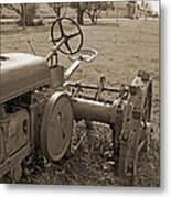 Old Work Horse Metal Print