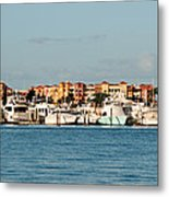 Olde Naples Seaport Metal Print