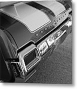 Olds Cs In Black And White Metal Print
