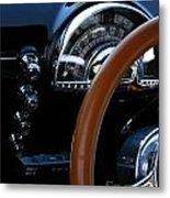 Oldsmobile 88 Dashboard Metal Print