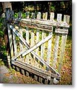 Ole Garden Gate I Metal Print
