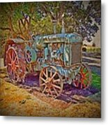 Oliver Tractor 2 Metal Print