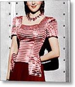 Olivia De Havilland, Ca. 1942 Metal Print by Everett