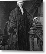 Olvier Ellsworth (1745-1807). Chief Justice Of The United States Supreme Court, 1796-1799. Steel Engraving, 1863 Metal Print