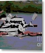 Olympic Lightweight Double Sculls Metal Print