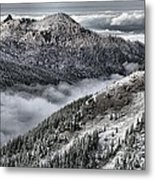Olympic Ridge Metal Print