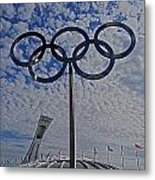 Olympic Stadium Montreal Metal Print by Juergen Weiss