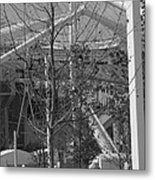 Olympic Torch - Athens Summer Games Metal Print