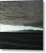 Ominous Black Storm Cloud Metal Print