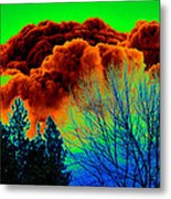 Ominous Cloudfront Metal Print