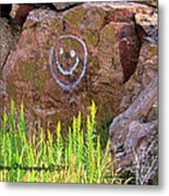 On A Happy Day Metal Print