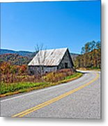 On A Roll In West Virginia Metal Print