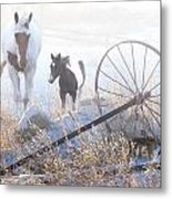 On A Winter Day Metal Print