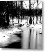 On A Winter's Day Metal Print