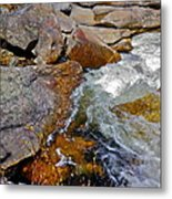 On Screw Auger Falls 6 Metal Print