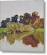 On The Arun Stoke Sussex  Metal Print