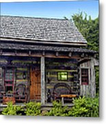 On The Back Porch Metal Print