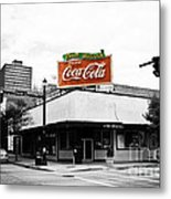 On The Corner Metal Print by Scott Pellegrin