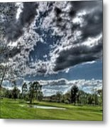 On The Course 2 Metal Print by Heather  Boyd
