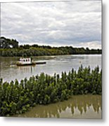 On The Danube Metal Print
