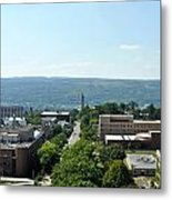 On The Top Of Cornell Metal Print