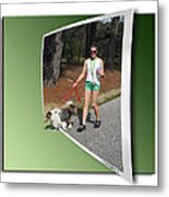 On The Trail Metal Print