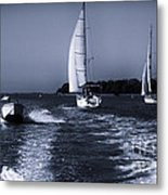 On The Water 1 - Venice Metal Print