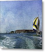 On The Water 2 - Venice Metal Print