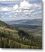 On Top Of Rendezvous Mountain Metal Print