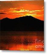 Onaping Canada Sunrise Metal Print