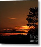 Onaping Canada Sunset 2 Metal Print