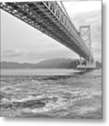 Onaruto Bridge Metal Print