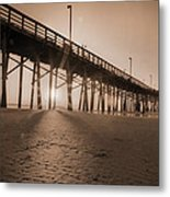 Once Every Morning  Metal Print