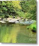 One Of Those Peaceful Places Metal Print