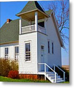One Room School House No.2 Metal Print