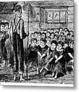 One-room Schoolhouse, 1883 Metal Print
