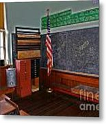 One Room Schoolhouse Metal Print