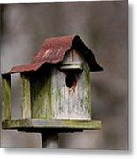 One Room Shack - Bird House Metal Print