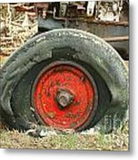Only Flat On The Bottom Metal Print