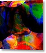 Only You Can See Me Metal Print by Fania Simon