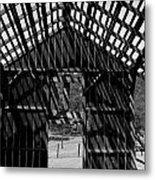 Open Air Barn Metal Print