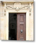 Open Church Door - Germany Metal Print
