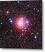 Open Star Cluster Ngc 2451 Metal Print