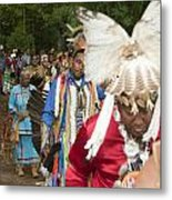 Opening Procession Metal Print